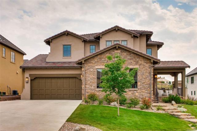 10700 Flowerburst Court, Highlands Ranch, CO 80126 (#8538094) :: The Peak Properties Group