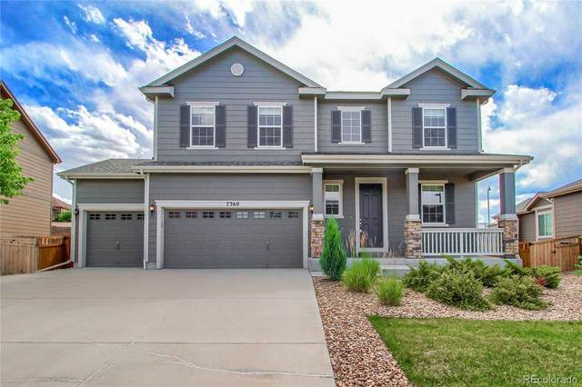 7360 Blue Water Drive, Castle Rock, CO 80108 (#8543712) :: Compass Colorado Realty