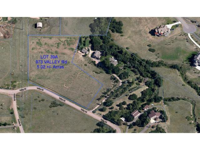 973 Valley Road, Lone Tree, CO 80124 (MLS #8544220) :: 8z Real Estate
