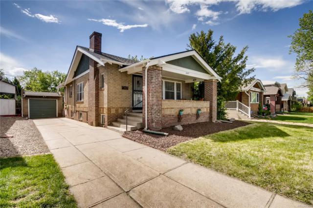 2077 S Corona Street, Denver, CO 80210 (MLS #8544392) :: 8z Real Estate