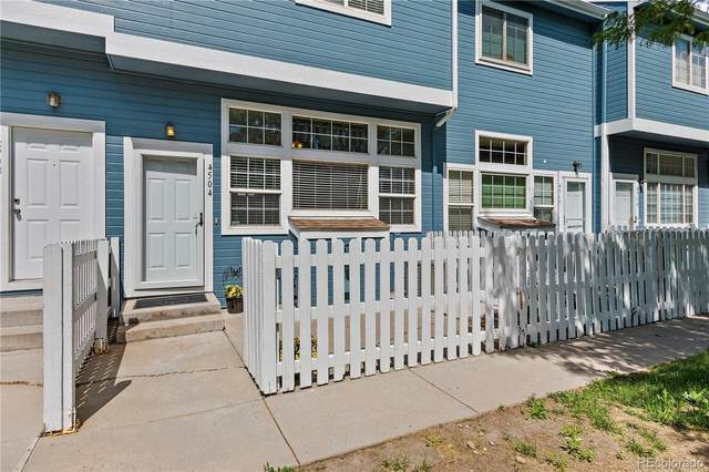 8199 Welby Road #4504, Thornton, CO 80229 (#8544676) :: The Griffith Home Team