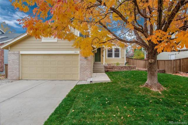 962 Garden Drive, Highlands Ranch, CO 80126 (#8545578) :: The DeGrood Team