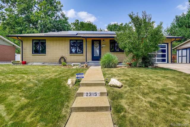 2315 Creighton Drive, Golden, CO 80401 (MLS #8550961) :: Clare Day with Keller Williams Advantage Realty LLC
