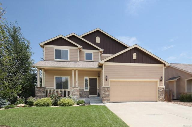 313 Tartan Drive, Johnstown, CO 80534 (#8552569) :: The Heyl Group at Keller Williams