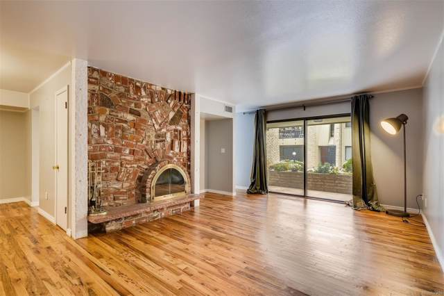 5882 E Ithaca Place #104, Denver, CO 80237 (#8553181) :: The DeGrood Team