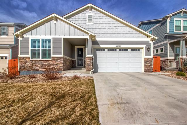 10071 Concordia Street, Parker, CO 80134 (#8554828) :: The Heyl Group at Keller Williams