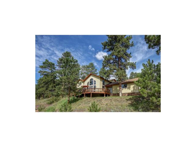 27255 Stagecoach Road, Conifer, CO 80433 (MLS #8555789) :: 8z Real Estate