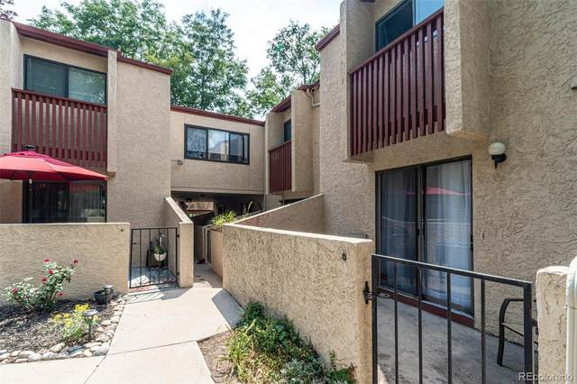 1060 S Parker Road #8, Denver, CO 80231 (#8556713) :: Compass Colorado Realty