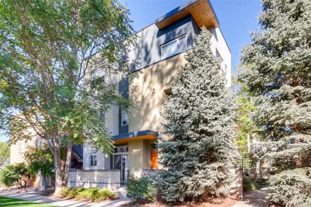 1874 Vine Street #102, Denver, CO 80206 (#8561029) :: The Peak Properties Group