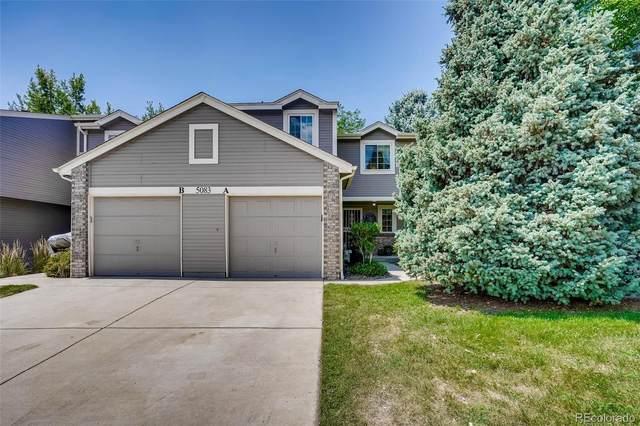 5083 S Elkhart Way A, Aurora, CO 80015 (#8562743) :: Finch & Gable Real Estate Co.
