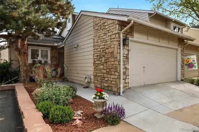 4605 S Yosemite Street #22, Denver, CO 80237 (#8563925) :: HomeSmart