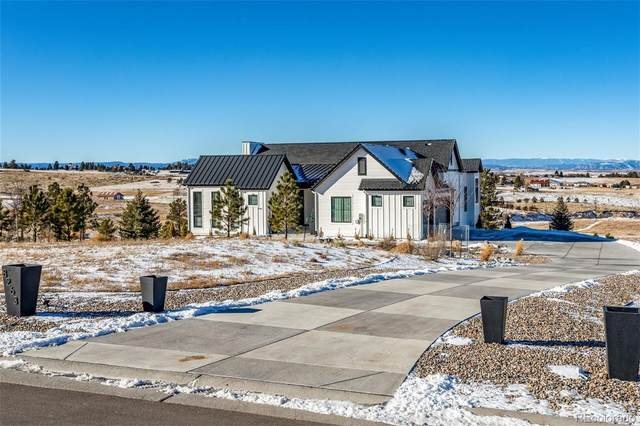 8263 Merryvale Trail, Parker, CO 80138 (MLS #8563927) :: 8z Real Estate