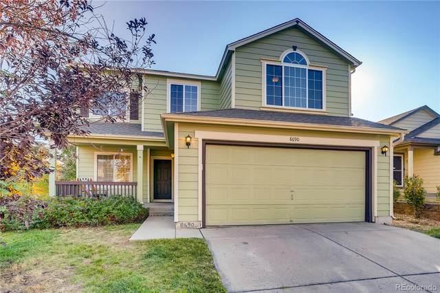 8690 Cloverleaf Circle, Parker, CO 80134 (MLS #8566072) :: Kittle Real Estate
