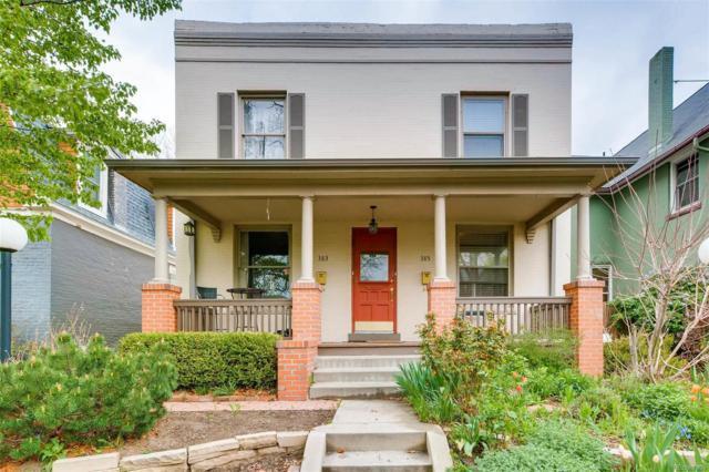385 Clarkson Street, Denver, CO 80218 (#8567163) :: The Pete Cook Home Group