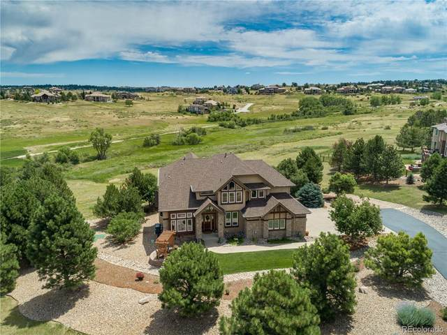 9708 Paperflower Drive, Parker, CO 80138 (MLS #8569165) :: 8z Real Estate