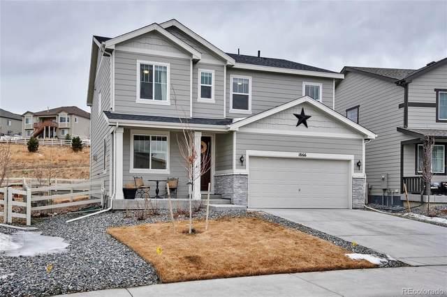 1866 Cade Avenue, Castle Rock, CO 80104 (MLS #8572391) :: The Sam Biller Home Team