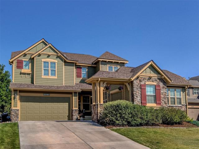 22463 E Hidden Trail Drive, Parker, CO 80138 (#8574681) :: The DeGrood Team