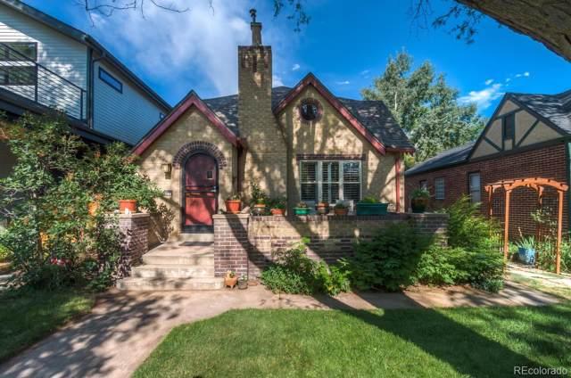542 S Vine Street, Denver, CO 80209 (#8578874) :: The Peak Properties Group