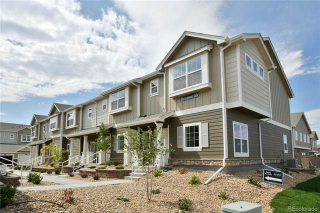 14700 E 104th Avenue #302, Commerce City, CO 80022 (MLS #8584409) :: Bliss Realty Group