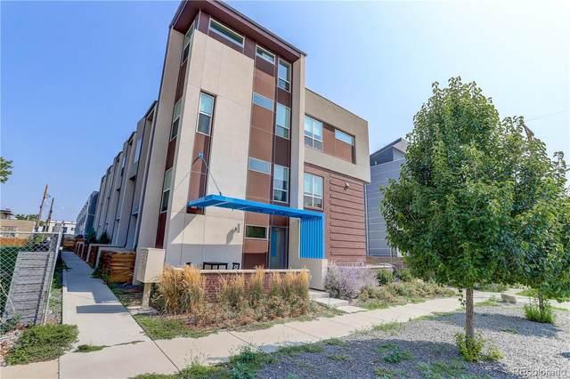 3323 W 17th Avenue #104, Denver, CO 80204 (MLS #8585726) :: Stephanie Kolesar