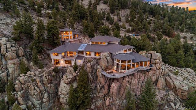 25580 Sunset Lane, Evergreen, CO 80439 (#8587302) :: The Colorado Foothills Team | Berkshire Hathaway Elevated Living Real Estate