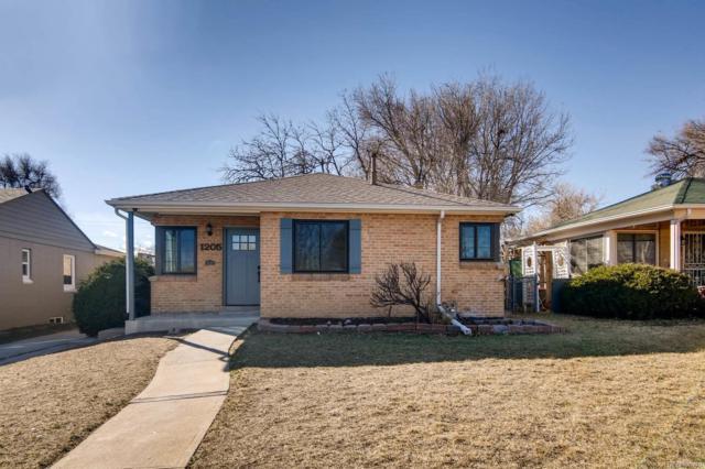 1205 Eudora Street, Denver, CO 80220 (#8589741) :: Bring Home Denver