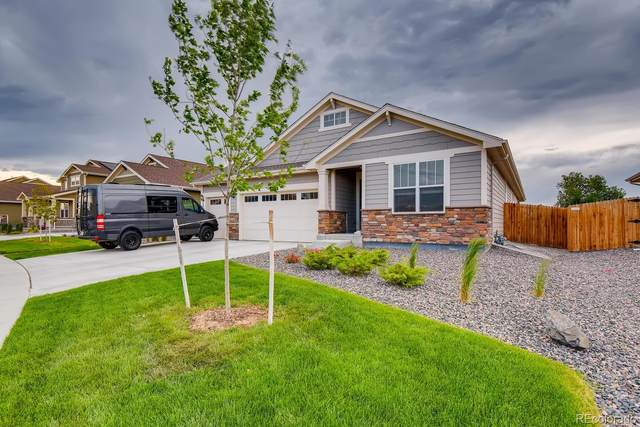 2571 E 163rd Place, Thornton, CO 80602 (#8590182) :: The Harling Team @ Homesmart Realty Group