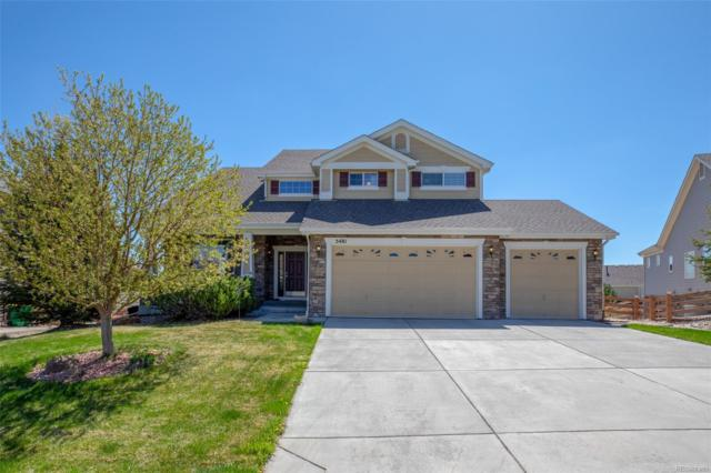 5481 Spur Cross Trail, Parker, CO 80134 (#8595098) :: The Healey Group