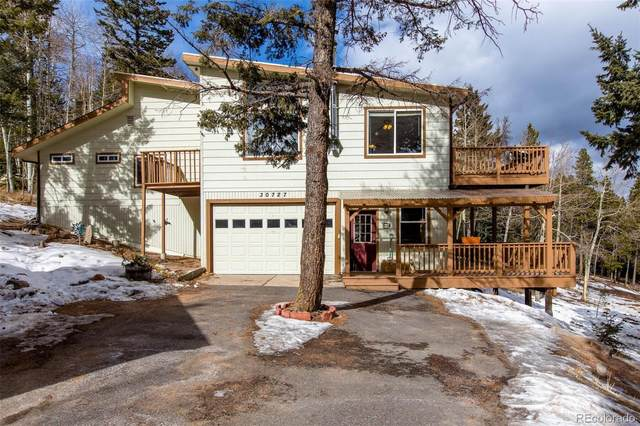 30727 Conifer Mountain Drive, Conifer, CO 80433 (#8596704) :: The Dixon Group