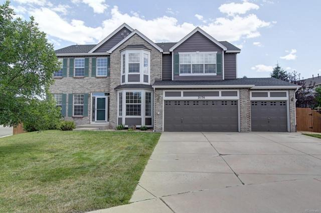 21176 Snowshoe Court, Parker, CO 80138 (#8596957) :: The Griffith Home Team