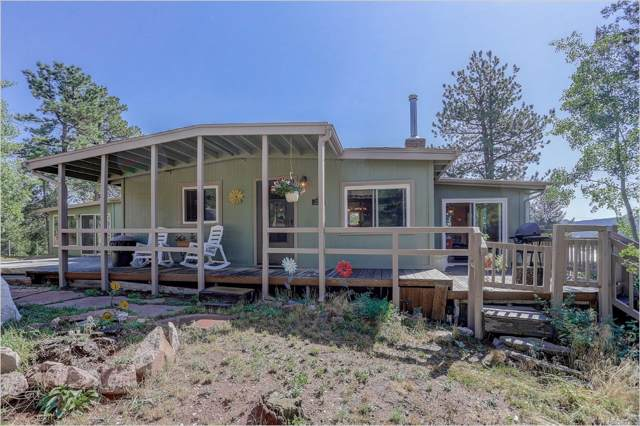 28600 Mountain View Road, Conifer, CO 80433 (MLS #8598106) :: 8z Real Estate