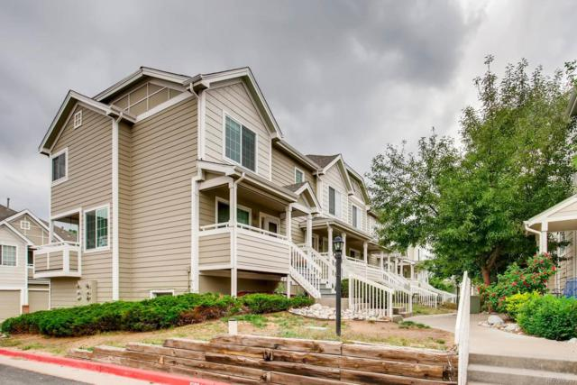 19163 E Wyoming Drive #106, Aurora, CO 80017 (#8600632) :: The Galo Garrido Group