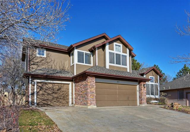 285 Peregrine Circle, Broomfield, CO 80020 (#8601288) :: Sellstate Realty Pros