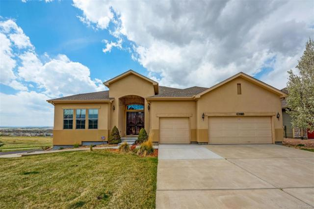 12167 S Shady Pine Court, Parker, CO 80134 (#8604265) :: The HomeSmiths Team - Keller Williams