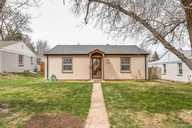 1345 Rosemary Street, Denver, CO 80220 (#8606803) :: HomeSmart