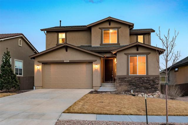 9159 Argentine Pass Trail, Colorado Springs, CO 80924 (#8607620) :: The Pete Cook Home Group