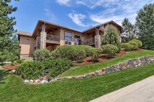 4360 Chateau Ridge Lane, Castle Rock, CO 80108 (#8609499) :: The Peak Properties Group