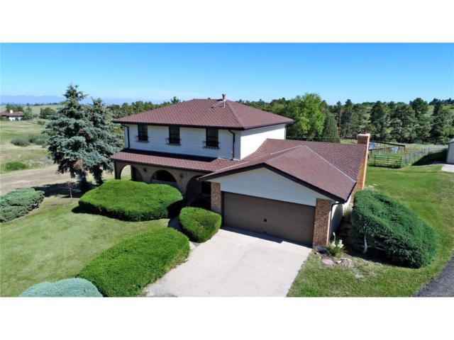 7827 E Warbonnet Trail, Parker, CO 80138 (MLS #8610100) :: 8z Real Estate