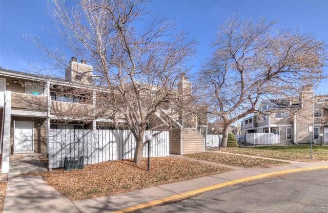 1742 S Trenton Street #7, Denver, CO 80231 (#8611940) :: The Healey Group