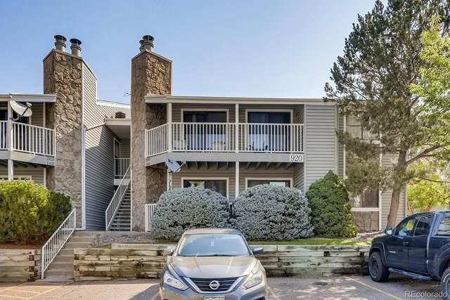 920 S Walden Way #104, Aurora, CO 80017 (MLS #8613916) :: 8z Real Estate