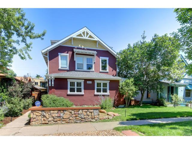 1922 S Logan Street, Denver, CO 80210 (MLS #8614277) :: 8z Real Estate