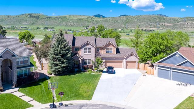 13154 W Crestline Drive, Littleton, CO 80127 (#8620511) :: The City and Mountains Group