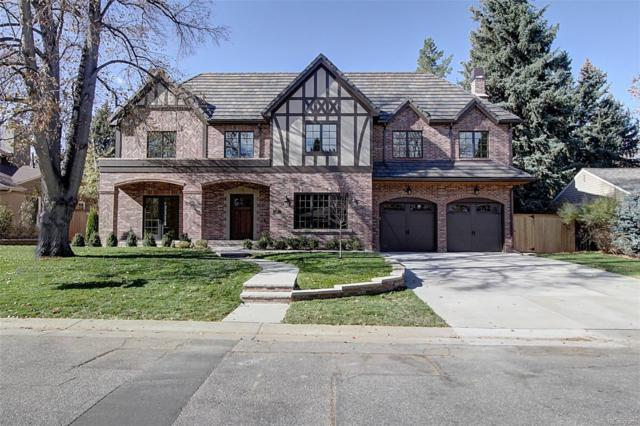 475 Krameria Street, Denver, CO 80220 (#8622950) :: The HomeSmiths Team - Keller Williams