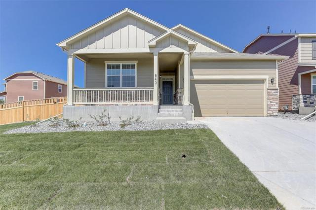 2322 Echo Park Drive, Castle Rock, CO 80104 (#8629339) :: The Peak Properties Group