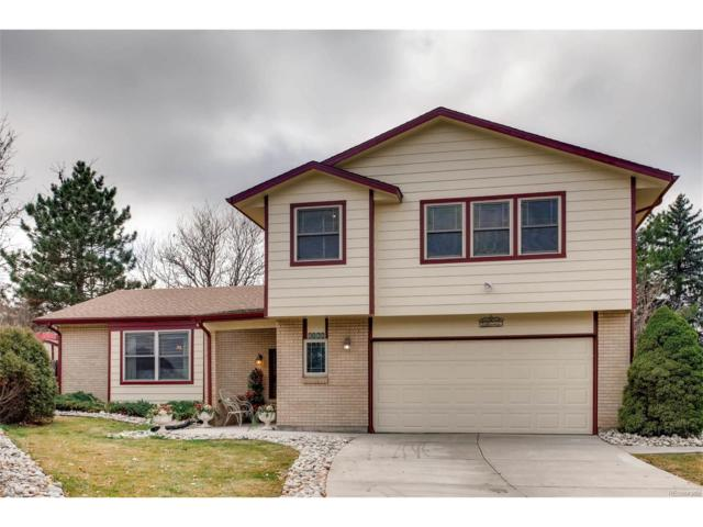 8166 W Fremont Drive, Littleton, CO 80128 (MLS #8635822) :: 8z Real Estate
