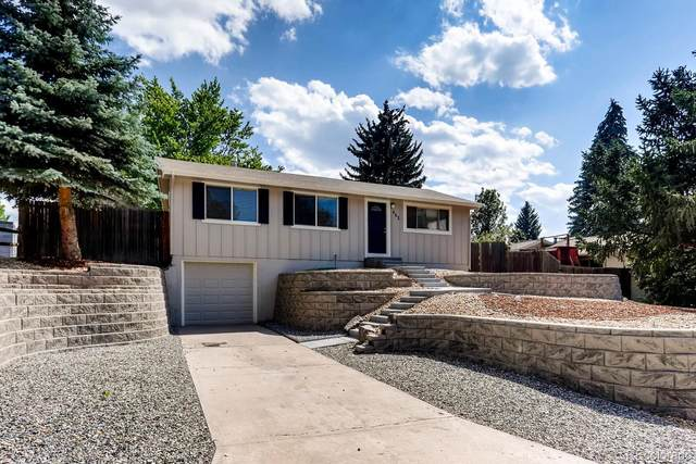 462 Vista Drive, Castle Rock, CO 80104 (#8635886) :: Mile High Luxury Real Estate