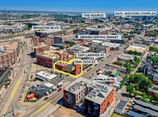 2501 Larimer Street, Denver, CO 80205 (#8637302) :: The DeGrood Team