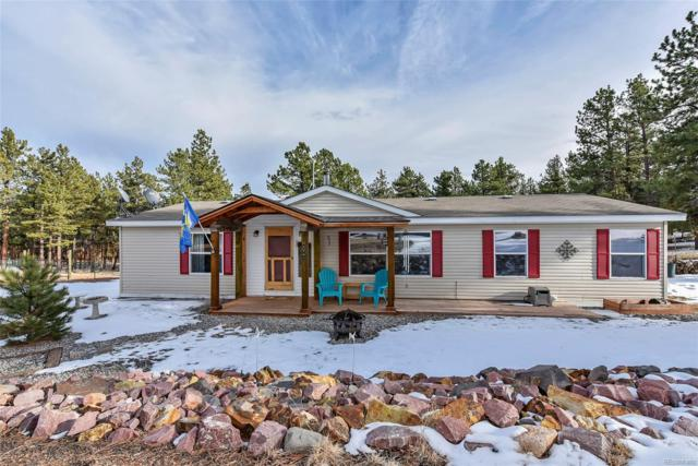 434 Blue Mountain Drive, Florissant, CO 80816 (MLS #8639539) :: Bliss Realty Group