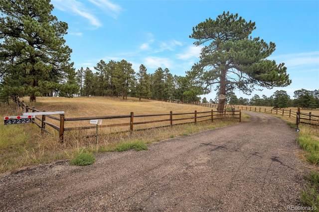 37222 County Road 21, Elizabeth, CO 80107 (#8642918) :: iHomes Colorado