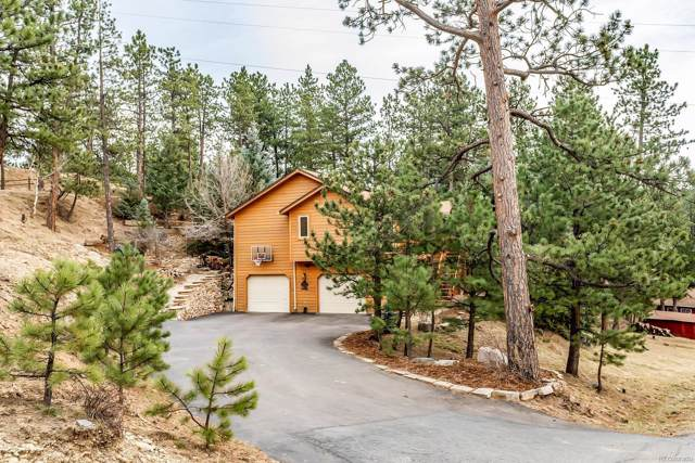 206 Echo Lake Drive, Evergreen, CO 80439 (MLS #8643354) :: 8z Real Estate